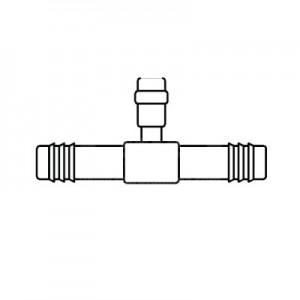 Oto Klima Şarj yeri / Hortum eki, Tip #10, 13mm, Kalın hortum, Siboplu